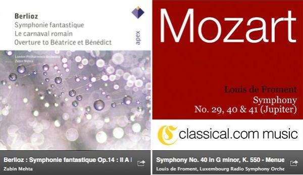 Sinfonía de Berlioz VS Sinfonía de Mozart