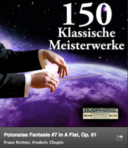 Haz clic en la imagen para escuchar la Fantaisie Polonaise de Chopin.