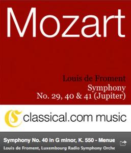Haz click en la imagen para escuchar el movimiento de esta sinfonía