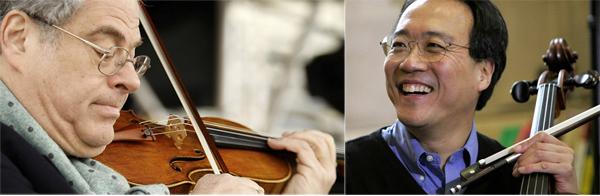 Itzhak Perlman y Yo-Yo Ma